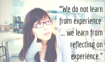 EYFS – The importance of Self Reflection